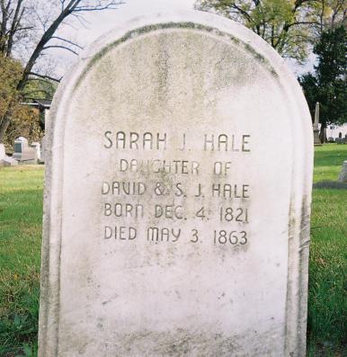 Hale_Miss_Sarah_Josepha - lot 61 Sec X
