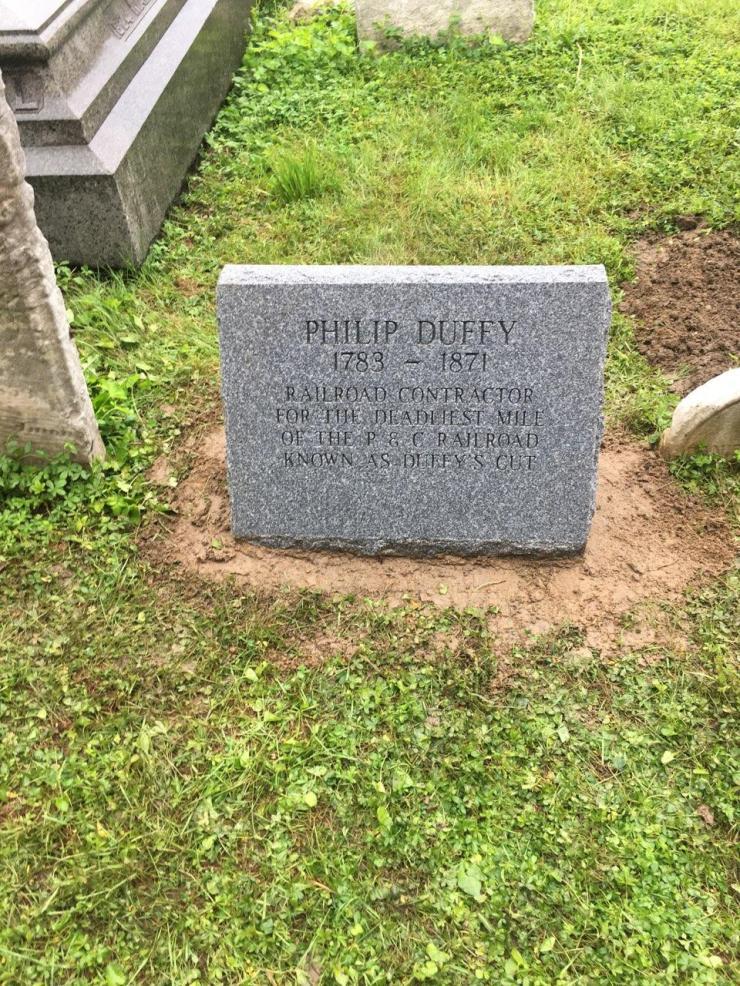 Duffy's Headstone