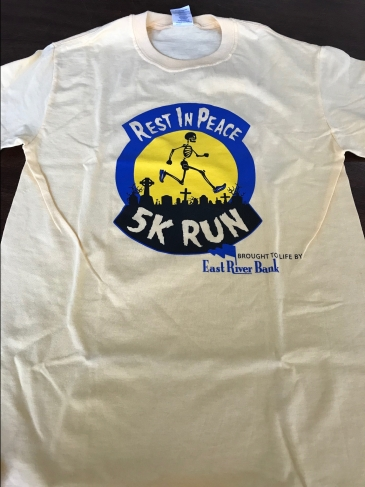 RIP 5K Tees from Years Past
