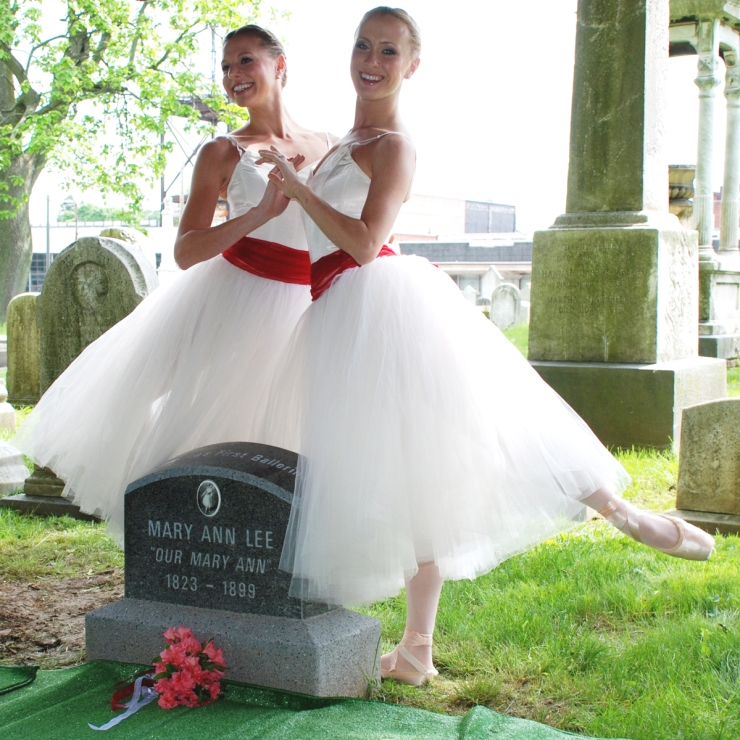 Ballerinas at Lee Gravesite.jpg