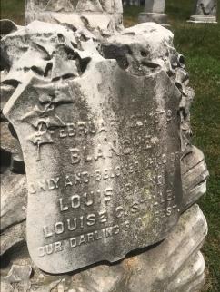 Children's Graves in Laurel Hill